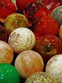Energy stones polished in round shape 1 — Stock Photo