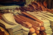 Group of wood objects, traditional romanian — Stock Photo