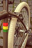 Vintage-Look auf einem Fahrrad Detail 7 — Stockfoto