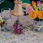 Arrangement for a romantic dinner 7 — Stock Photo #62295713