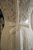 Wedding dress. Detail-71 — Stock Photo