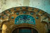 Old postcard of one historical building.Timisoara, Romania -22 — Foto Stock