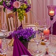 Arrangement for the wedding dinner party-18 — Stock Photo #64052703