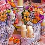 Special romantic arrangement — Stock Photo #64070103