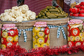 Happy pickles from Maramures, Romania 3 — Stock Photo