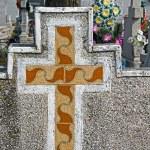 Type of funeral cross 21 — Stock Photo #67277057