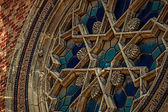 Old photo with detail from a synagogue — Foto de Stock