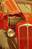 Vintage stil på en gammal bil 1 — Stockfoto