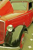 Vintage stil på en gammal bil 2 — Stockfoto