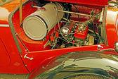 Vintage stil på en gammal bil 4 — Stockfoto