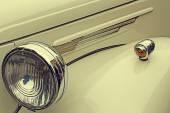 Vintage stil på en gammal lyxbil 1 — Stockfoto