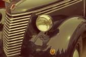 Vintage stil på en gammal italiensk bil — Stockfoto