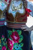 Detail of Serbian folk costume for women 1 — Stock Photo