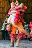 Colombian dancers 2 — Stock Photo