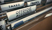 Tax Evasion, Offshore Account — Stock Photo