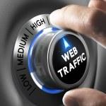 Website Traffic — Stock Photo #63050977