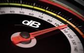 DB, Decibel level — Stock Photo