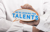 Talents Search — Stock Photo