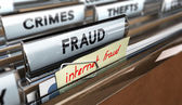 Internet Fraud, Online Scams — Stock Photo