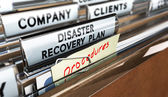 DRP, Disaster Recovery Plan — Stock Photo