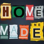 Home made word on broken car license plates, vector — Stock Vector #53291423