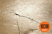 Vector natural cracked stone texture — Stock Vector