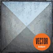 Vector metal tile texture grunge background — Stock Vector