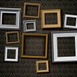 Realistic retro picture frames vector set background — Stock Vector #65613841