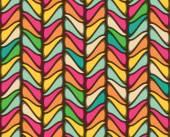 Seamless geometric vintage wallpaper vector illustration — Stock Vector
