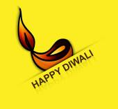 Elegant card design for traditional Happy Diwali fantastic vecto — Wektor stockowy