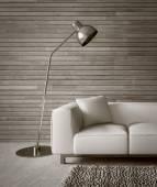 Modern interior with beautiful furniture — Stock Photo