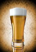 Beer in a glass — Stock Photo