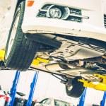 Lifted Car Maintenance — Stock Photo #52799897