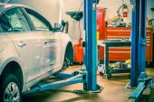 Car Servicing Station — Stock Photo