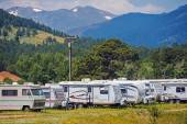 Mountain RV Park — Stock Photo
