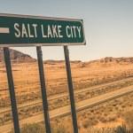 Salt Lake City Road Sign — Stock Photo #54770419