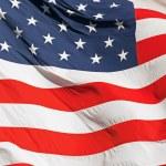 Waving Real American Flag — Stock Photo #54770963
