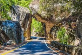 Natural Stone Bridge — Stockfoto
