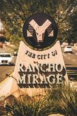 City of the Rancho Mirage — Stock Photo