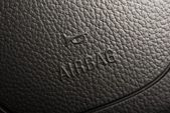Airbag volante — Foto de Stock