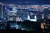 Salt Lake City Downtown — Stock fotografie