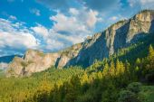 Yosemite and Sierra Nevada — Foto de Stock