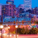 Denver Colorado Rush — Stock Photo #55916845