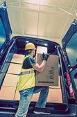 Shipment Van Delivery — Foto de Stock