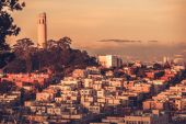 Telegraph Hill San Francisco — Stock Photo