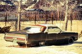 Rusty American Classic Car — Stock Photo
