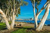 San Diego Waterfront Park — Stock Photo