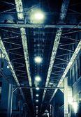 Aged Iron Bridge — Stock Photo