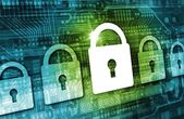Online Data Security Concept — Stock Photo