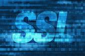 SSL Certificate Concept — Stock Photo